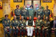 Army briefs Rajnath Singh over security situation in Eastern Ladakh
