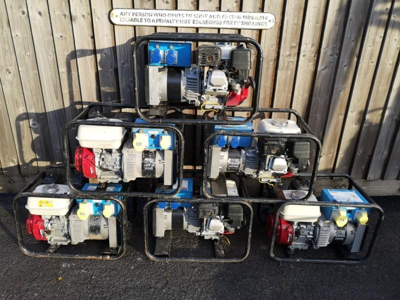 Used Stephill 3.4kVA 115/230V Petrol Generators for sale