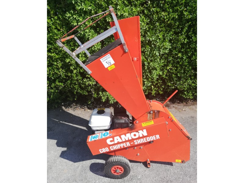 Used Camon C80 Petrol Chipper/Shredder for sale in the Southwest