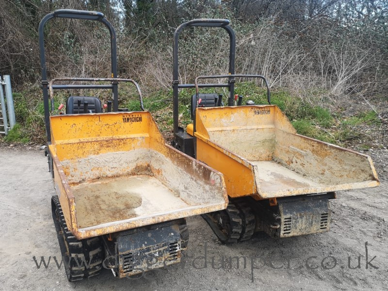 Used Yamaguchi WB07 Sit On Tracked Dumpers For Sale in the UK
