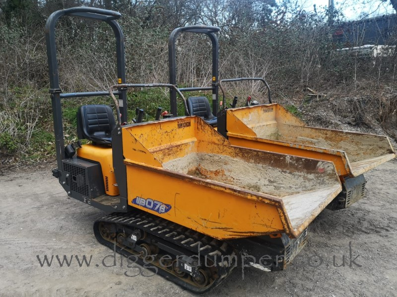 Used Yamaguchi WB07 Sit On Tracked Dumpers For Sale in the Southwest