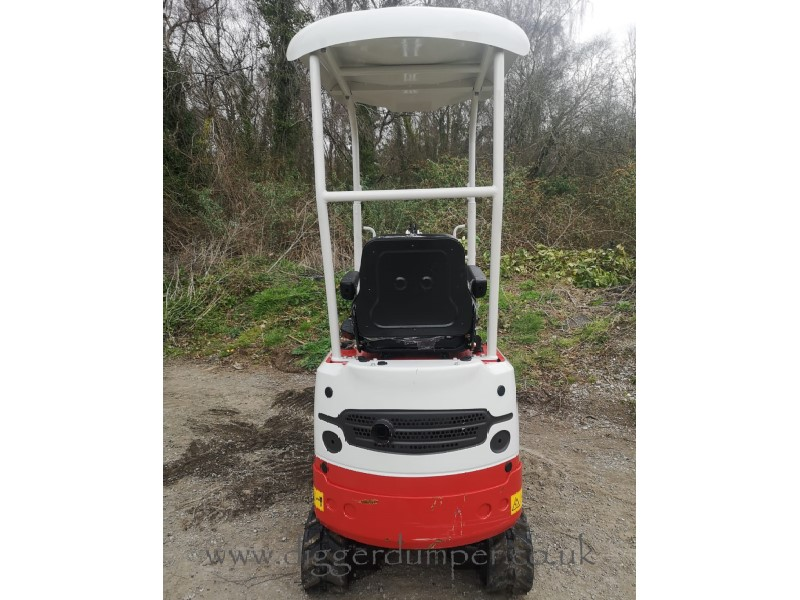 Ex Demo Rhinoceros XN08 Micro Excavator for sale