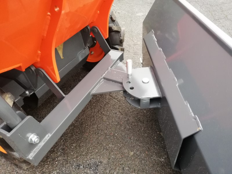 4WD Petrol Mini Wheeled Dumper with a Grader, Snow Plough For Sale