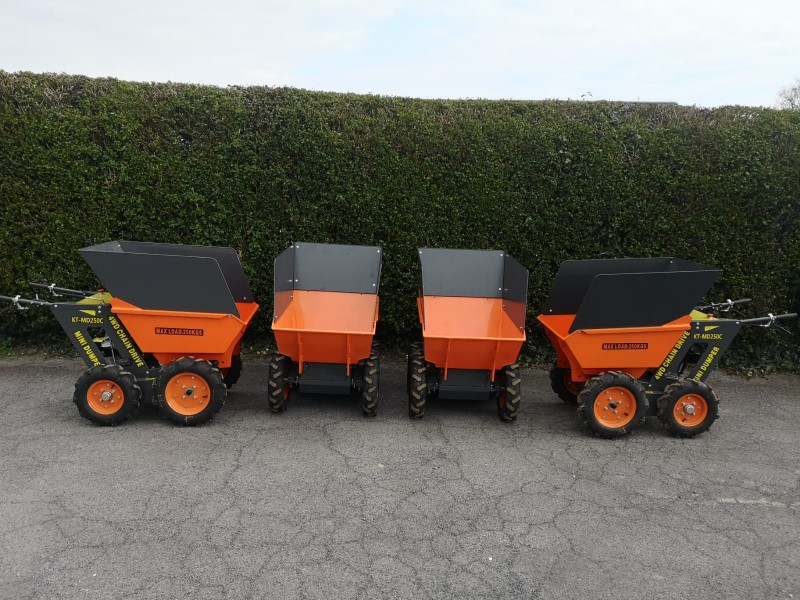 New 4WD Petrol Mini Dumpers with Greedy Boards For Sale