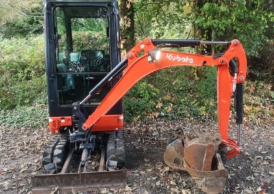 Kubota KX016-4 Mini Digger £13,750