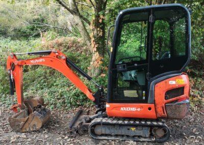 2016 Kubota KX016-4 Mini Excavator