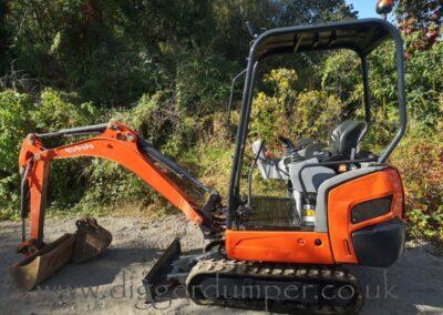 2015 Kubota KX015-4 Mini Excavator £10,500
