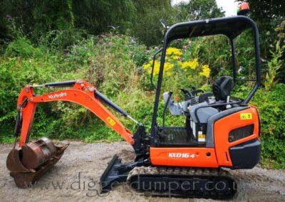 2016 Kubota KX016-4 Mini Digger £13,750