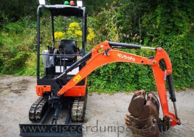 Kubota KX016-4 Mini Excavator £14,750