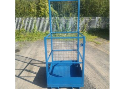 Single Man Forklift Access Cage