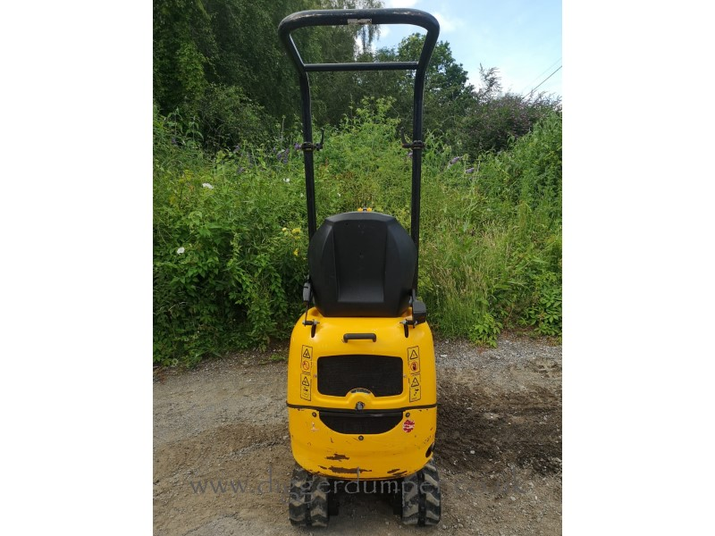 Used JCB 8008 Micro Excavator with 3 Buckets For Sale