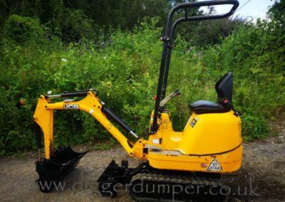 JCB 8008 Micro Excavator £10,850