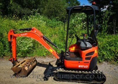 2013 Kubota U17-3a Mini Digger £13,500