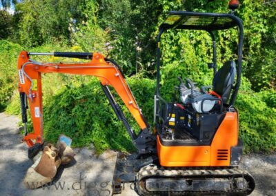 Hitachi ZX19U Mini Excavator