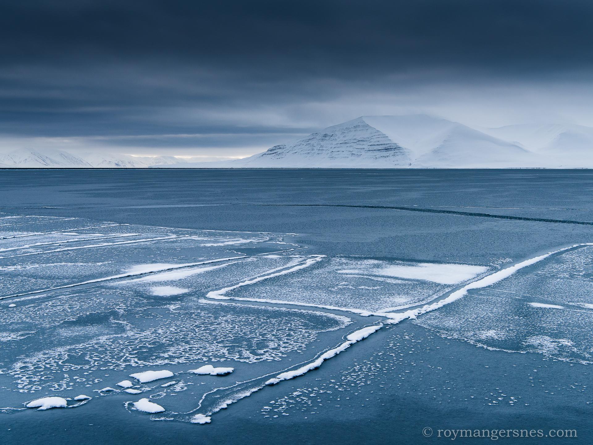 Svalbard Liefdefjorden_Winter3