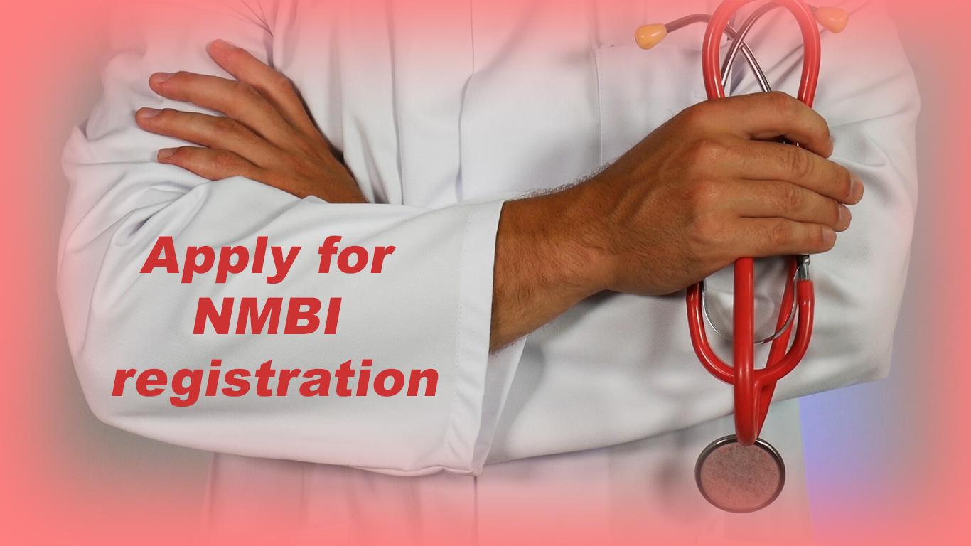Apply for NMBI registration