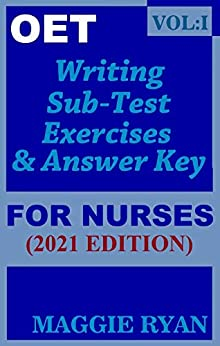 OET Writing Books for Nurses by Maggie Ryan