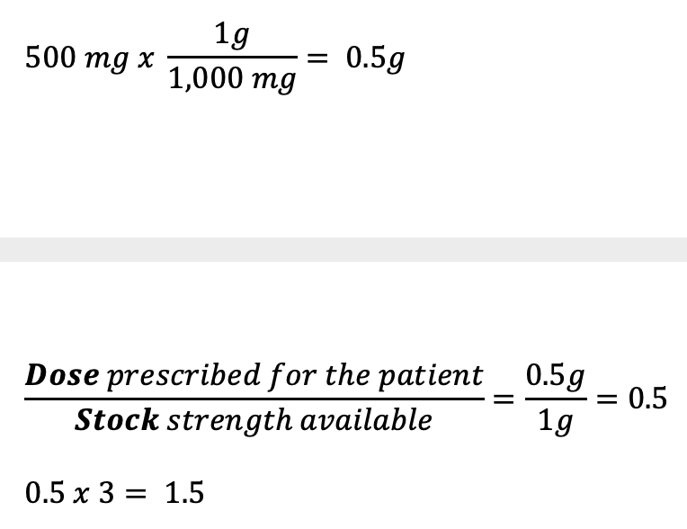 CBT Numeracy Question 20