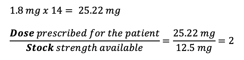 CBT Numeracy Question 22