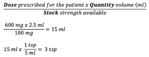 CBT Numeracy Question 23