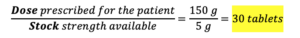 CBT Numeracy Question 42