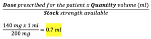 CBT Numeracy Question 7