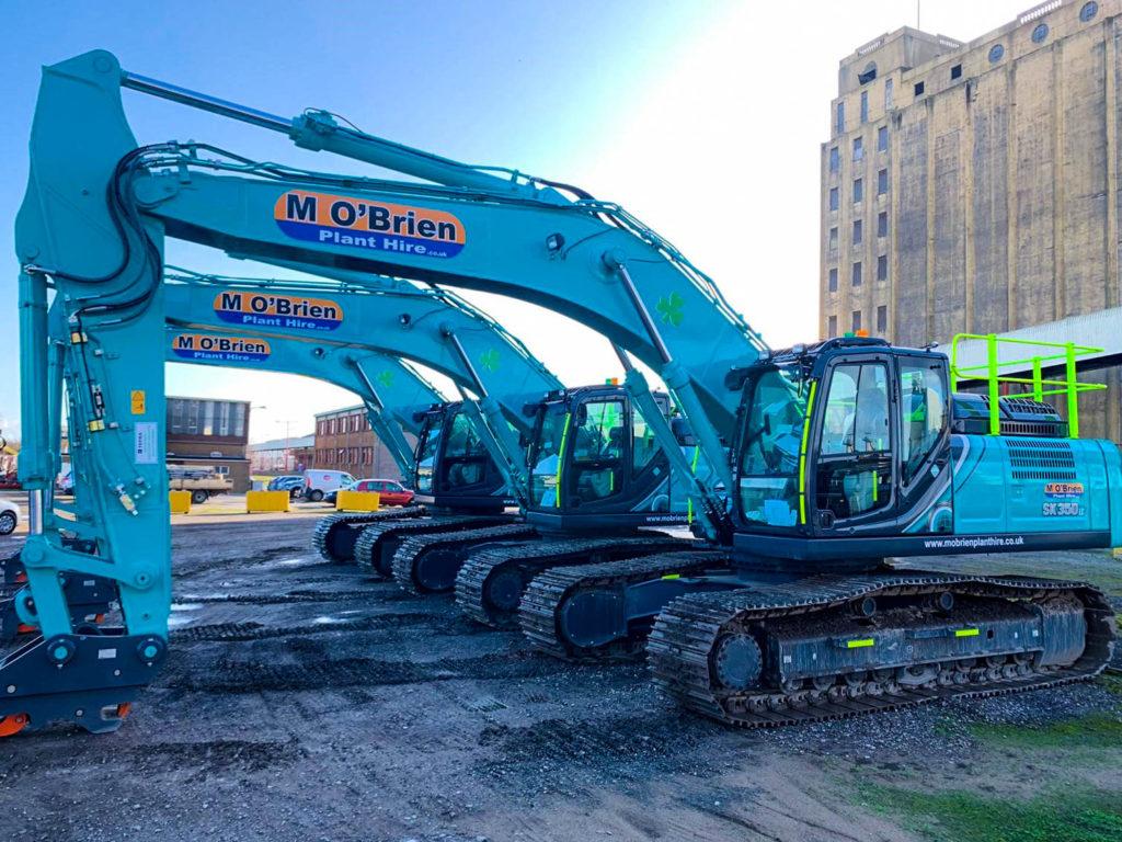 35t excavator hire