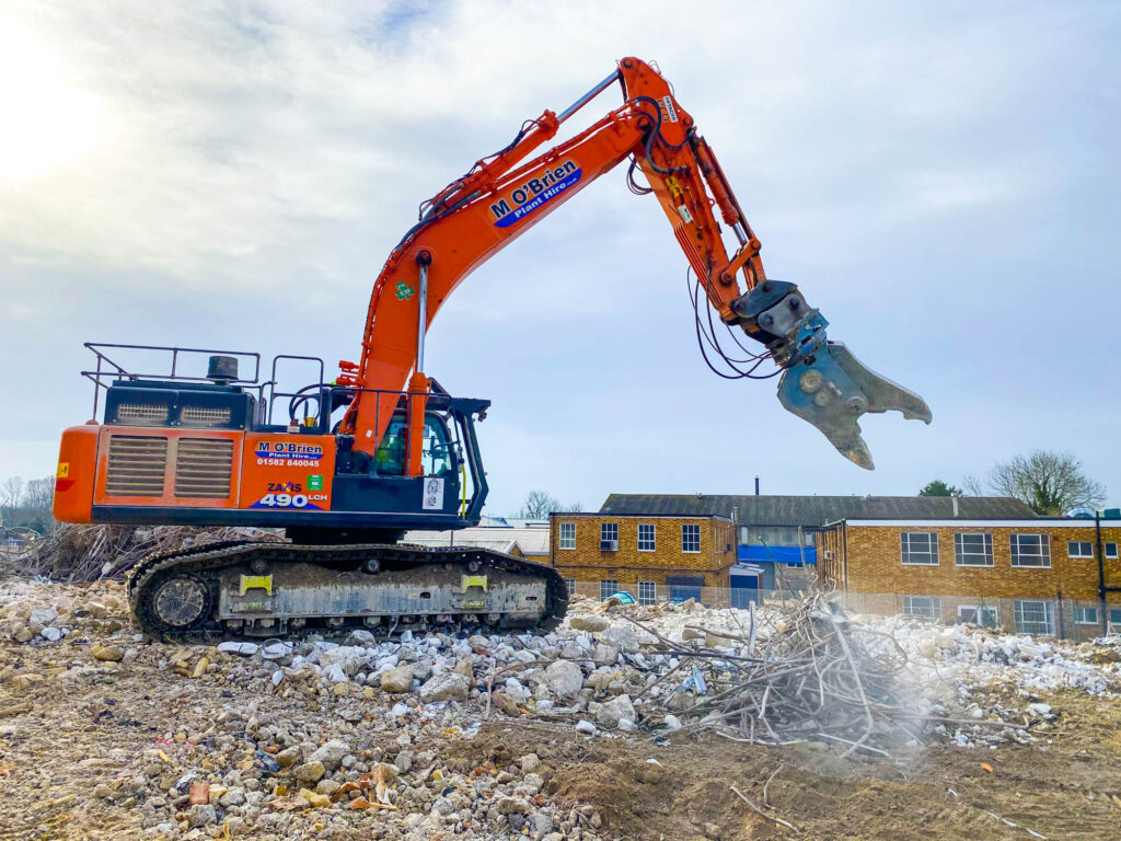 Excavator attachments for hire