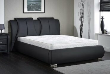 Modern king size Leather bed