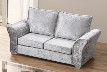 Richmond  Crushed Velvet 2 Seater Sofa
