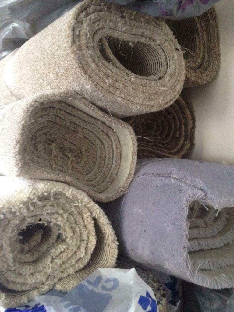Carpet remnants and off cuts to clear, rug sizes available