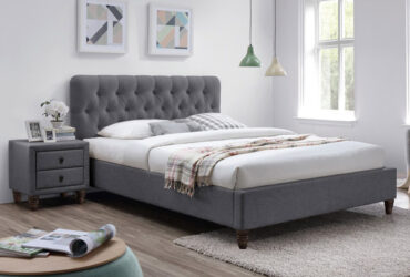 Marita Upholstered Platform Bed