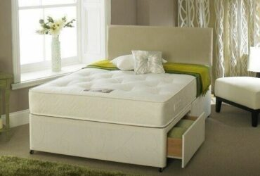 BRAND NEW DOUBLE SIZE DIVAN WHITE BASE OF BEDE SIZE DIVAN WHITE BASE OF BED