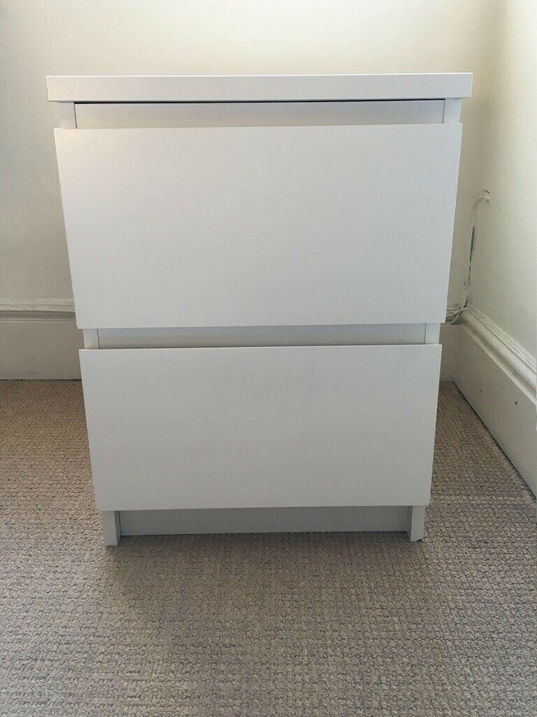IKEA MALM chest of 2 drawers