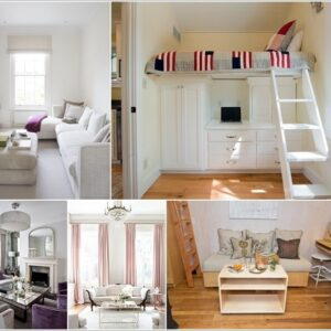 Rooms to let -Make small room look bigger