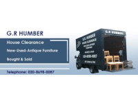 G R Humber  SECONDHAND FURNITURE