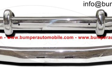 Saab 93 bumper (1956-1959) by stainless steel