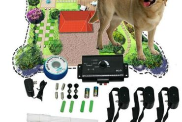 Electronic Dog Fencing System Dog Training Device