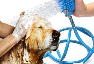 Tool Pet Shower Sprayer Scrubber