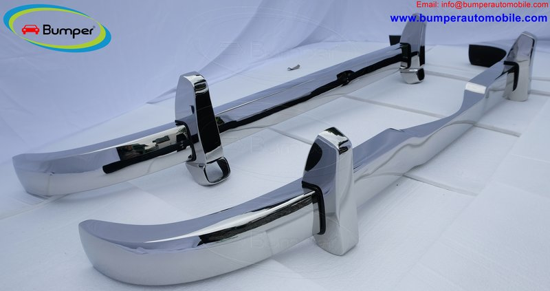 Mercedes Ponton 4 cylinder W120 W121 bumpers (1953-1959 bystainless steel