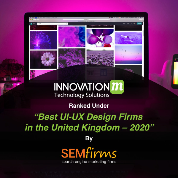 Web Design in London, UK & Mobile app development company in UK is InnovationM.