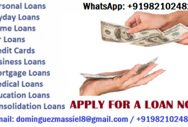 LOAN OFFER APPLY TODAY FOR MORE INFO.