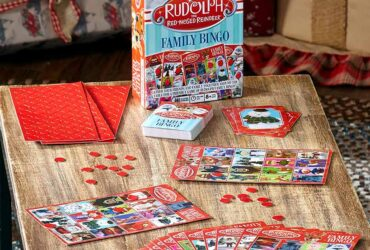 Rudolph Family Bingo or Journey Board Game