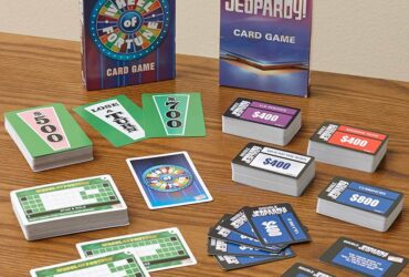 Wheel of Fortune or Jeopardy Card Games