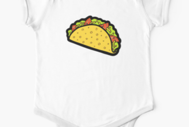 It & Taco Time! Baby One-Piece