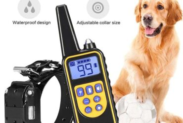 Dog Collar Electric Dog Training Collar Rechargeable