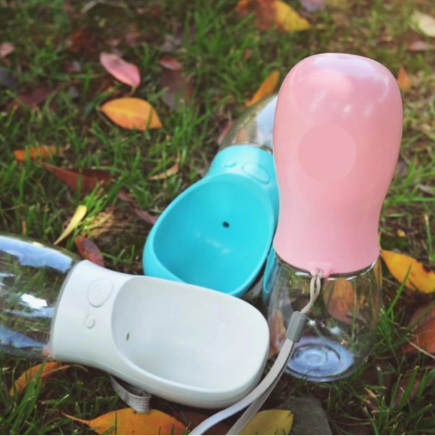 PORTABLE PET TRAVEL WATER BOTTLE