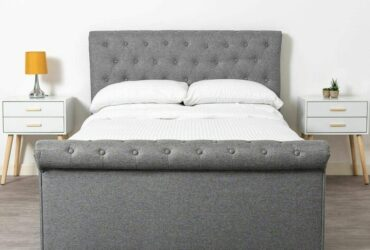 Analysse Upholstered Ottoman Bed