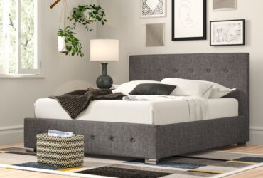 Bernice Upholstered Storage Bed