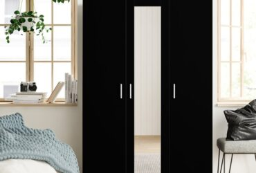 Eva Mirrored 3 Door Wardrobe